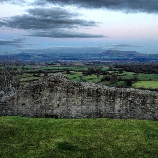 Montgomery Castle Ruins